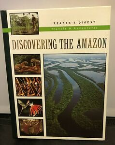 Discovering The Amazon Readers Digest Hardbook Travel Guide History Pictures
