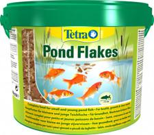 Tetra Pond Flakes 10 Liter Eimer / Teich Fischfutter Flocken