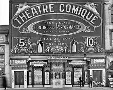 Photograph  Detroit Vintage Theater / Theatre  Comique 1910   11x14