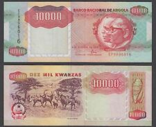 Angola 10000 Kwanzas 1991 (VF) Condition Banknote P-131b