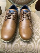 Izod mens Style Cal Lace Up Casual shoes Color Brown Size 11.5