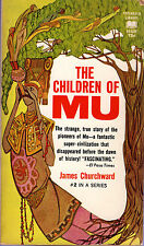 James Churchward THE CHILDREN OF MU pb 1968 Ancient World Vintage-Good