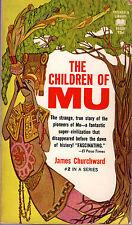 James Churchward THE CHILDREN OF MU pb 1968 Ancient World Vintage-Good