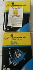 Yellow Pages Telephone Phone Book 1993 Greater Houston space station city Cover