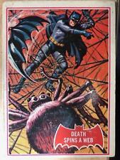BATMAN Red Bat Cards A + B C Gum 1966 No 18A