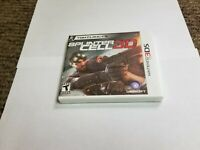 Tom Clancy's Splinter Cell 3D  (Nintendo 3DS, 2011) new