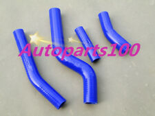 Blue silicone radiator hose for Yamaha WR450F WRF450 2010 2011 2012 2013 2014