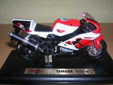 Maisto Yamaha YZR-R7 / YZR R7 blanco rojo, 1:18 Moto Moto