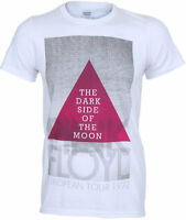 Official Pink Floyd Darkside Of The Moon T Shirt European Tour 1972 Small White