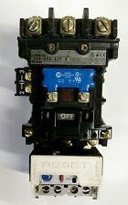 ALLEN BRADLEY 509-BOD-A2D STARTER, SERIES B, (110V COIL)