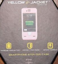 iPhone 4 Yellow Jacket phone case - Pink