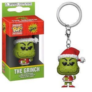 Funko Pop Vinyl Keyring Dr Seuss The Grinch Christmas Special Edition Pocket Pop
