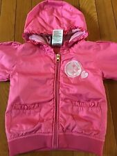 NFL Team Apparel Hooded Lightweight Pink Jacket Pittsburgh Steelers 12 Months