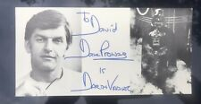 """More details for star wars dave prowse """"darth vader"""" autograph"""