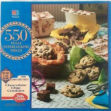 MB Betty Crocker 550 Piece Puzzle Recipe Card For Chocolate Chip Cookies
