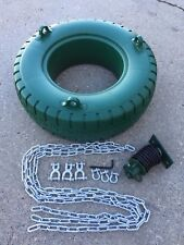 swingset tire swing,commercial tire swivel swing,playset,playground,NEW,chains