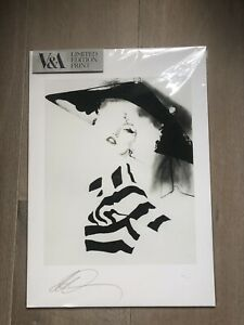 Look 10 Illustration by David Downton limited edition print John Galliano AW 09