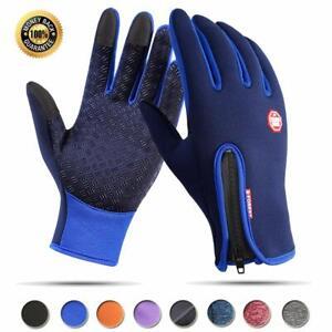 Winter Thermal Ski Gloves Touchscreen Waterproof Snow Motorcycle For Women Men
