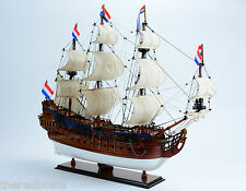 Holland Frigate Friesland Wooden Handmade Wooden Sailing Ship Model 35""