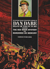 DAN DARERED MOON MYSTERYAND MAROONED ON MERCURY.VOL.2. NICE COPY