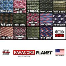 Paracord Mil Spec Type III Parachute Cord 7 Strand Outdoor Rope Spool Tie Down