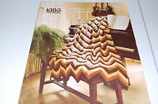 King Patterns Leaflet - Variations On A Theme by Bev Hansen - Knitted Afghan