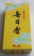 Japanese Incense Sticks | Nippon Kodo | Mainichikoh Sandalwood | 300 Stick Box