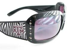 Texas A&M Aggies Black Zebra Womens Sunglasses TA&M Officially Licensed S4ZB