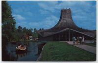 OKEFENOKEE SWAMP PARK WELCOME CENTER~WAYCROSS,GEORGIA Postcard
