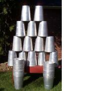 12 Aluminum Sap Buckets Maple Syrup Bucket VERY NICE!