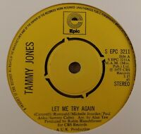 "Tammy Jones : Let Me Try Again : Vintage 7"" Single From 1975"