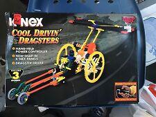 Knex K'nex Cool Drivin' Dragsters 13132 (Builds 3 Models) NIB #3917 Vintage