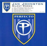 Jan Johnston - Silent Words Promo CD single