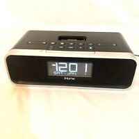 iHome iA91 Speaker Dock With Clock Radio for iPod and iPhone (black)