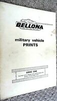 BELLONA MILITARY VEHICLE PRINTS #1: SERIES ONE (1964)