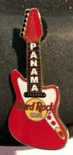 Hard Rock Cafe *PANAMA*..CLOSED..RED AND WHITE CORE FENDER GUITAR PIN MINT