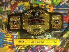 RARE WWE CLASSIC CRUISERWEIGHT CHAMPIONSHIP JAKKS PACIFIC WRESTLING BELT 2002