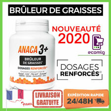 Anaca3+ plus 120 gélules Brûleur de Graisses régime perte poids maigrir complet