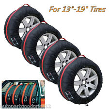 "Car Seasonal Spare Tire Protection Cover Carry Tote Storage Bag for 13""-19"" Tyre"