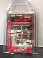 "Burndy Superbug SB252TCCS 3/8"" x 1"" spacing for #2 to 1/0 wire"
