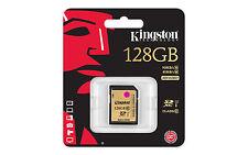 Kingston SD Card 128GB Class 10 SDHC Camera Memory Card SDA10/128GB UHS