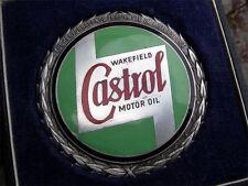vintage CASTROL WAKEFIELD - Motorsport Award Badge early 1950´s - old script