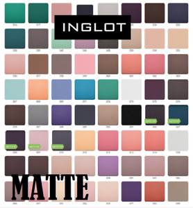 INGLOT Freedom System Eyeshadow MATTE square refill  colors 281 - 305  HOT SALE!