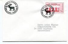 1984 Gällivare MARKNAD Sverige Augsburg Europa Polar Antarctic Cover
