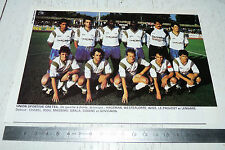 CLIPPING POSTER FOOTBALL 1988-1989 US CRETEIL
