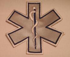 EMS Star of Life Blue Reflective Patch 7""