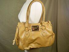 Tommy Hilfiger Handbag Landmark Gold Genuine Leather Large Tote Bag