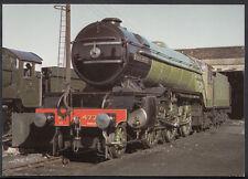 Train Postcard - LNER Class V2 Loco No 4771 'Green Arrow' at Steamtown RR1495
