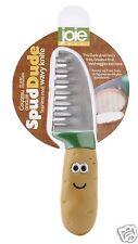 Joie MSC Spud Dude Vegetable Potato Wavy  Knife Stainless Steel Kitchen Home