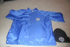 2016 Stadium Series Avalanche Red Wings Coors Field Staff Jacket & Beanie RARE
